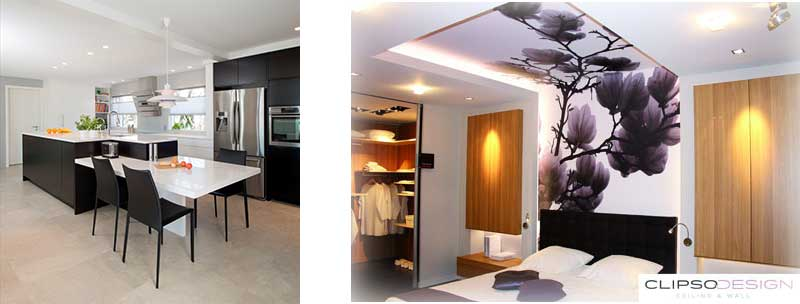 Clipso wall and ceiling solutions